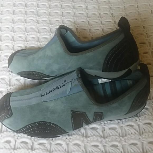 fd30ff150c Merrell hiking zip up sneakers teal